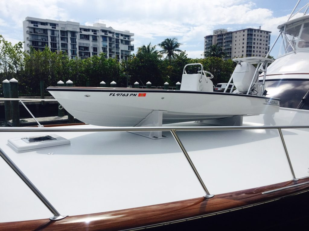 17' Custom Shallow Water Flats Boat - Flats Fishing Skiff