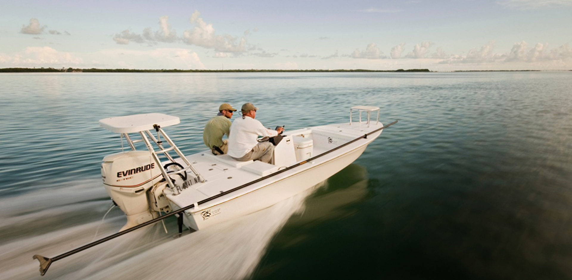 Shallow Water Flats Boat